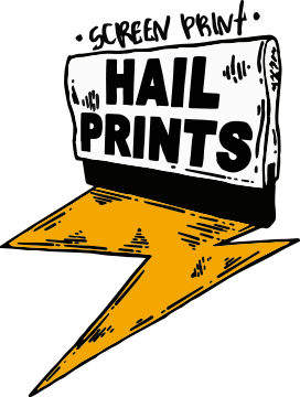 hail prints logo